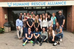 BSA headquarters in Washington, DC visited the Humane Rescue Alliance