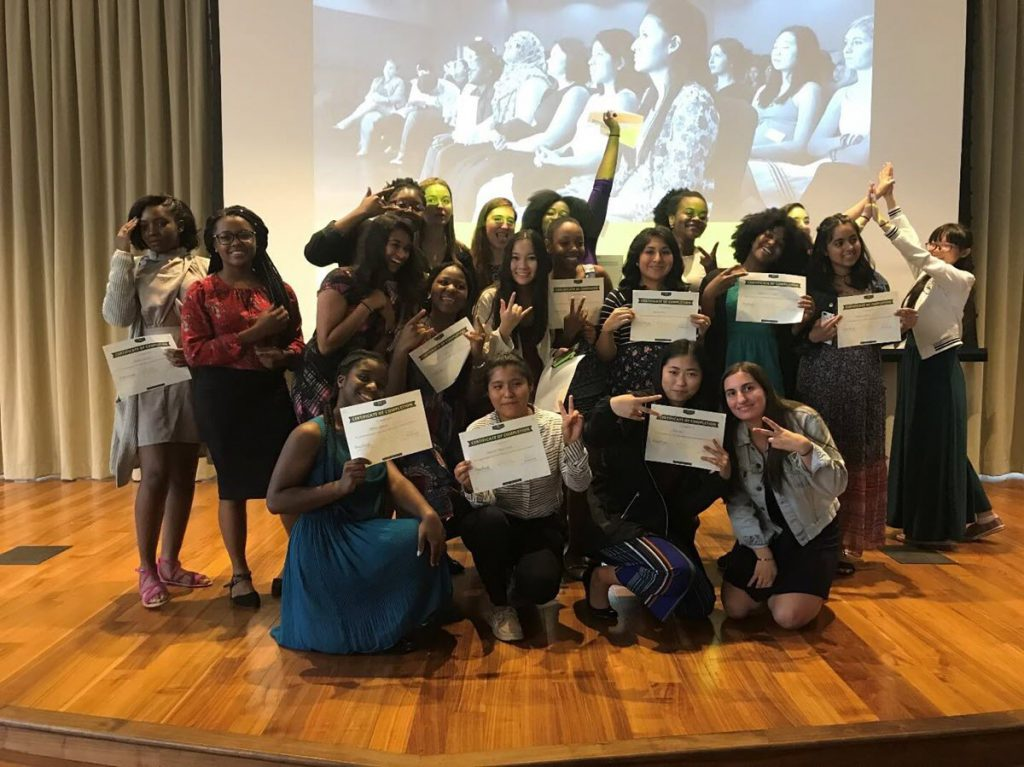Girls Who Code Class of 2017